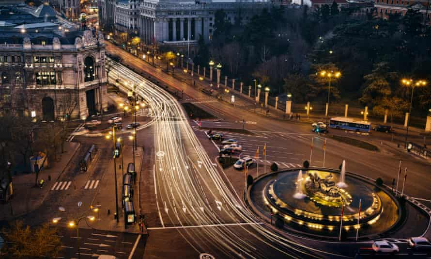 Picture of central Madrid