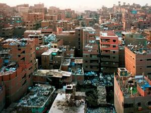 Bas Princen's Mokattam Ridge (Garbage Recycling City), Cairo, 2009.