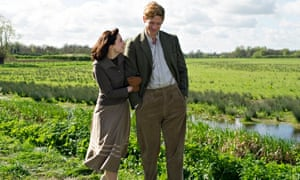 James Norton as Sidney Chambers with Morven Christie as Amanda Kendall