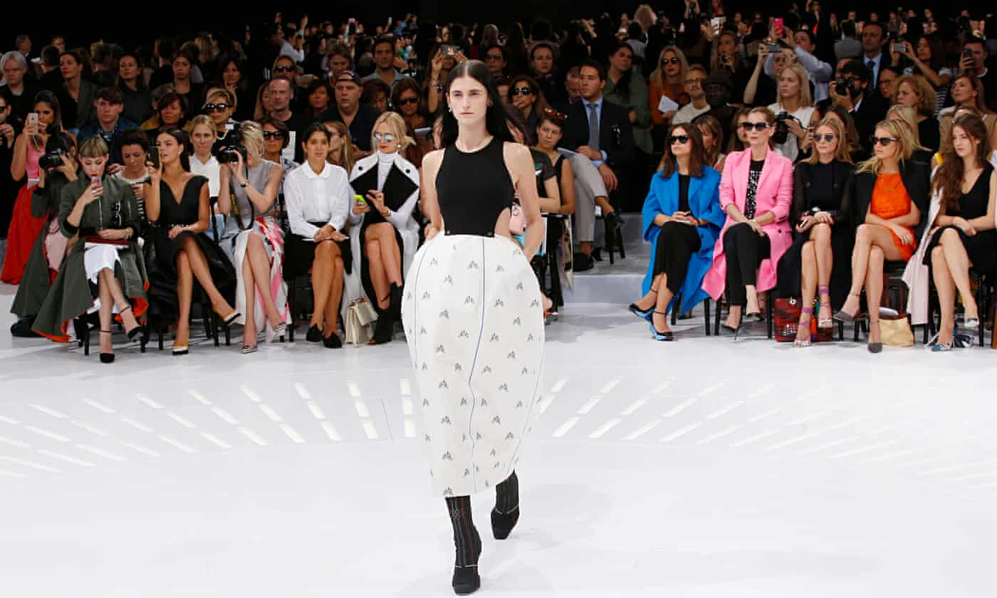 Christian Dior's invisible runway at the Louvre is a hit at Paris fashion week