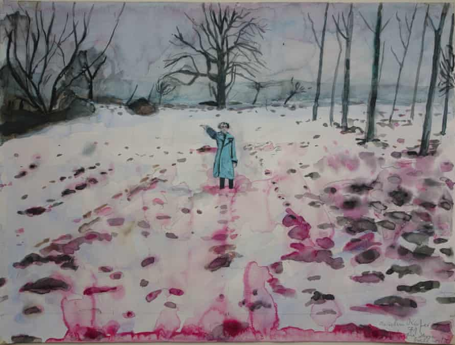 Ice and Blood (Eis und Blut), 1971 by Anselm Kiefer.