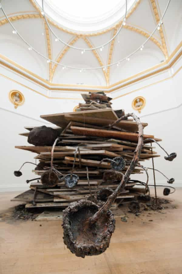 Ages of the World (Die Erdzeitalter), 2014 by Anselm Kiefer at the Royal Academy.