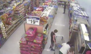 Video footage of John Crawford III moments before he was gunned down in a Walmart.