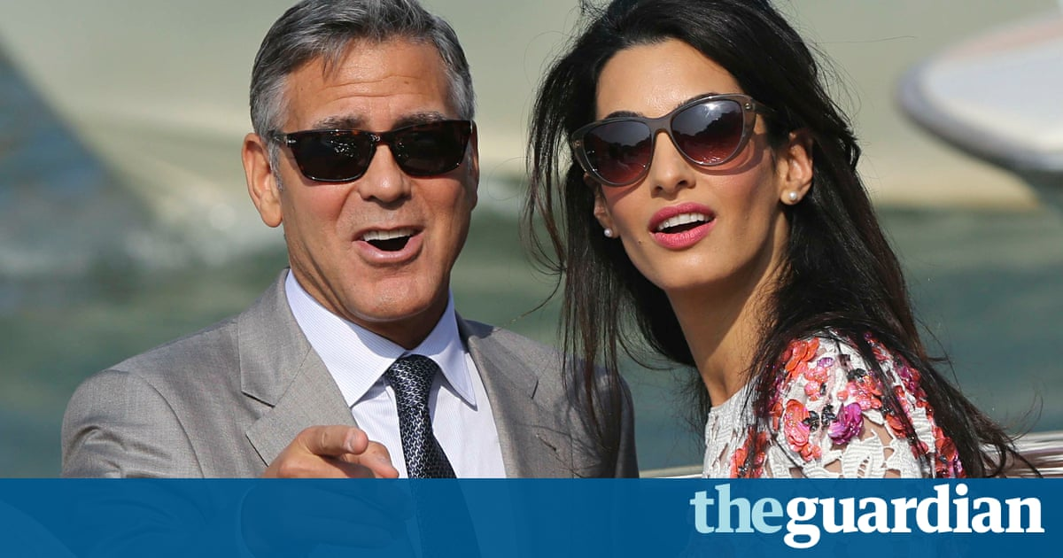 George Clooney and Amal Alamuddin appear together after ...