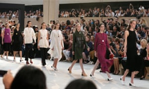 Brit designer Phoebe Philo's spring/summer 2015 ready-to-wear collection for Celine at Paris Fashion