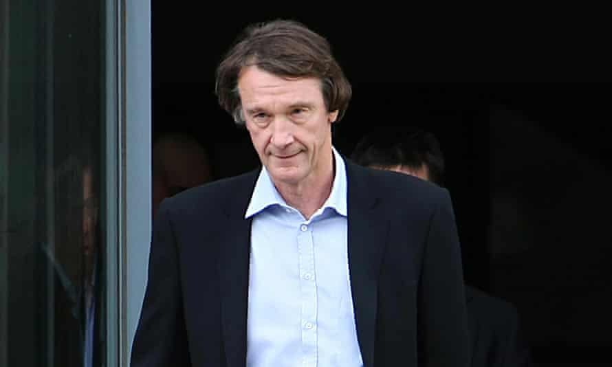 Ineos founder Jim Ratcliffe has promised to hand more than 6% of future shale gas revenues to those