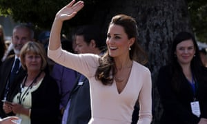 The Duchess of Cambridge in Australia earlier this year.