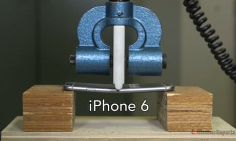 iPhone 6 and 6 plus bending fears 'seem overblown'