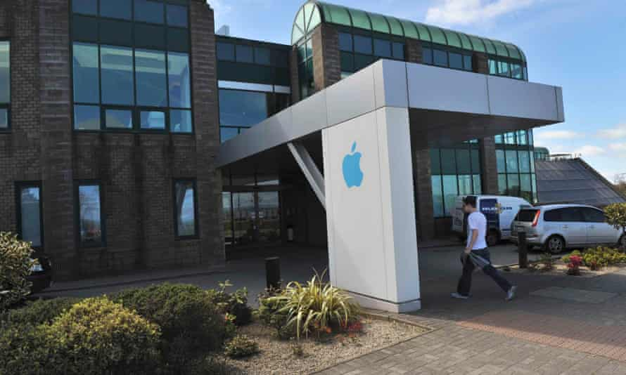 Apple's site in Hollyhill, Cork, southern Ireland which employs thousands of people.