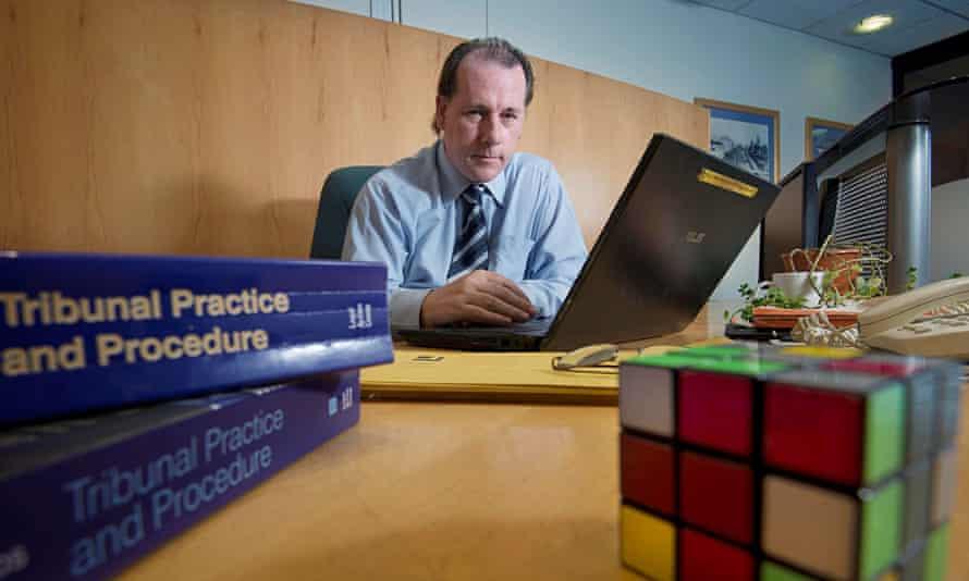 Welfare rights adviser Nick Dilworth