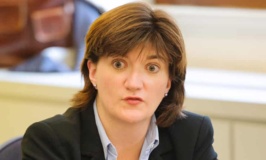 Women's minister Nicky Morgan