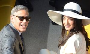 George Clooney and Amal Alamuddin