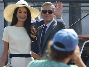 George Clooney and Amal Alamuddin's wedding: 'A sensational piece of