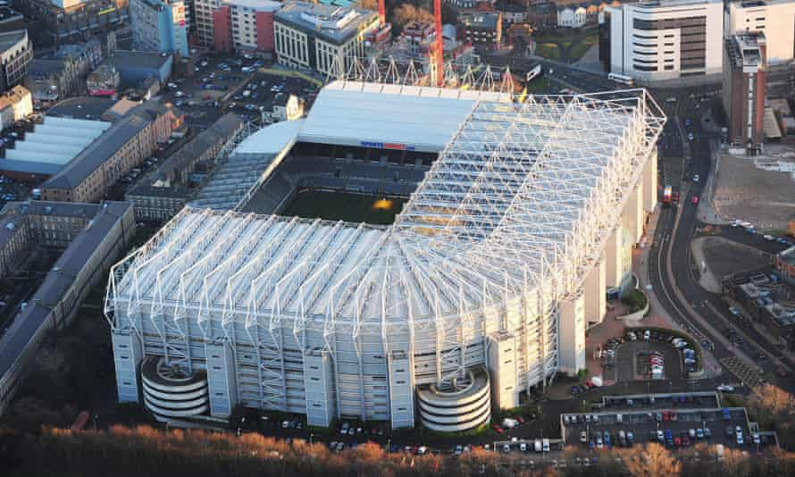 St James' Park. Newcastle are one of only three Premier League clubs not to have moved location.