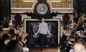 Stella McCartney laps up the applause from fashion's great and good