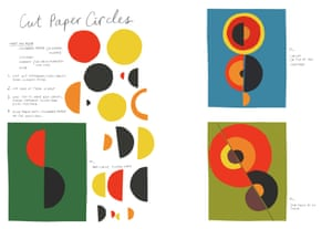 Great artists Sonia Delaunay circles
