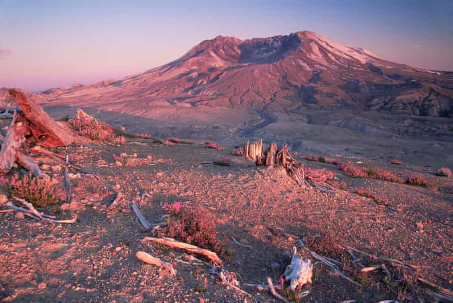 Mount St Helens, Mount.