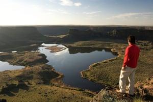 Sun Lakes-Dry Falls state park.