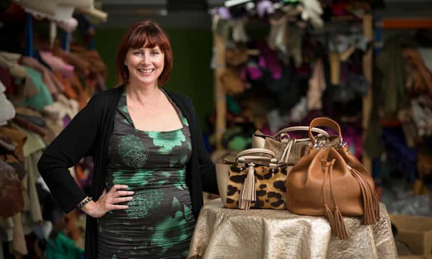 Liz Cox, British bag makers