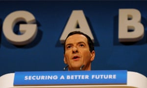George Osborne speaks at the Conservative party conference