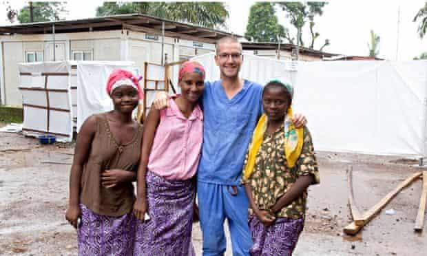 Will Pooley in Sierra Leone