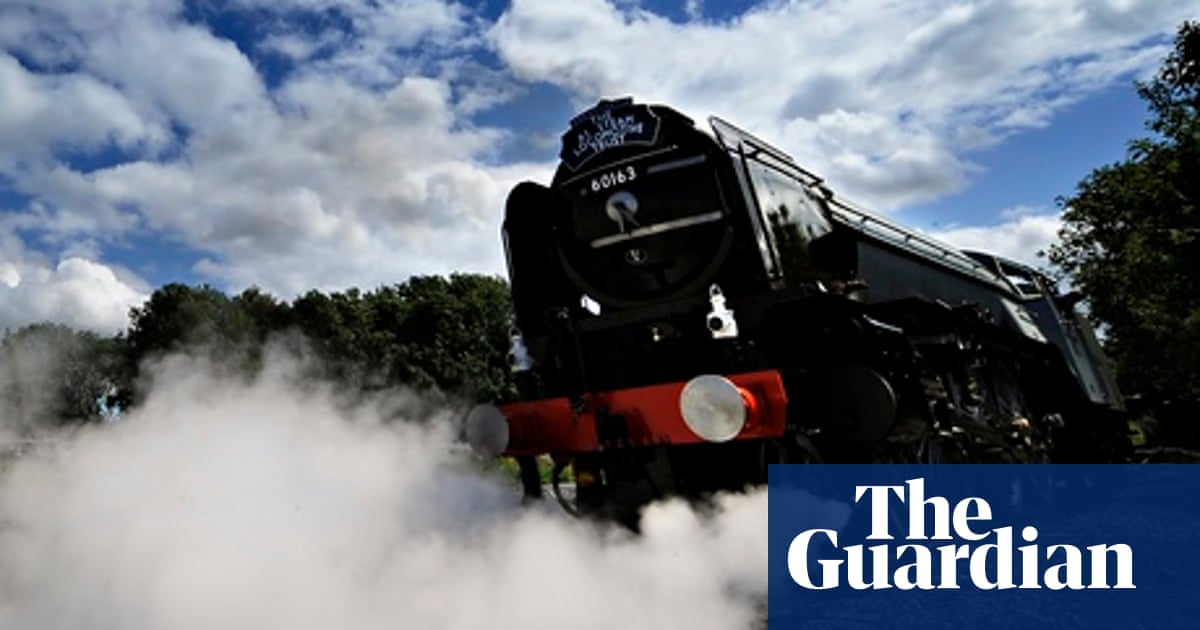 The top 10 books about trains | Books | The Guardian