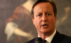 Prime Minister David Cameron addresses members of the Nato Parliamentary Assembly.