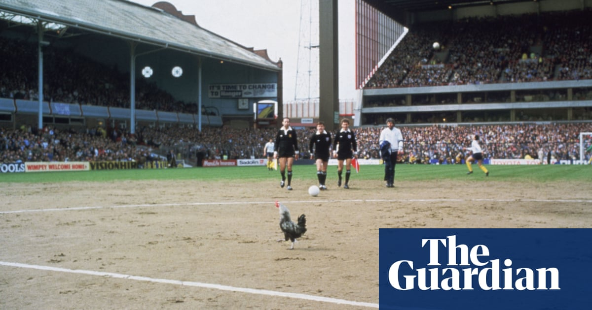 dce3404b465 Memory Lane  football mascots – in pictures