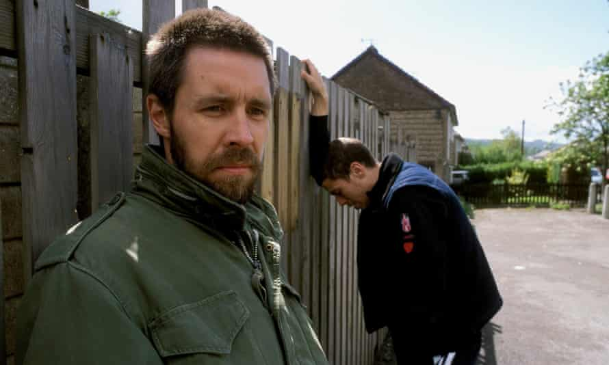 Paddy Considine with Toby Kebbell In Dead Man's Shoes (2004).