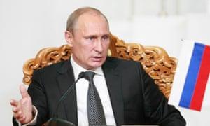 Russian President Vladimir Putin.
