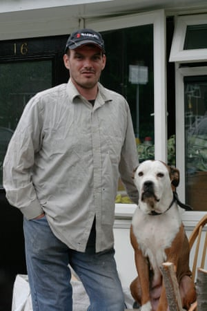 James Evans lives in Huddersfield with his dog, Lady. He wants to challenge a benefits decision but cannot get legal aid.
