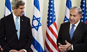 John Kerry, Binyamin Netanyahu