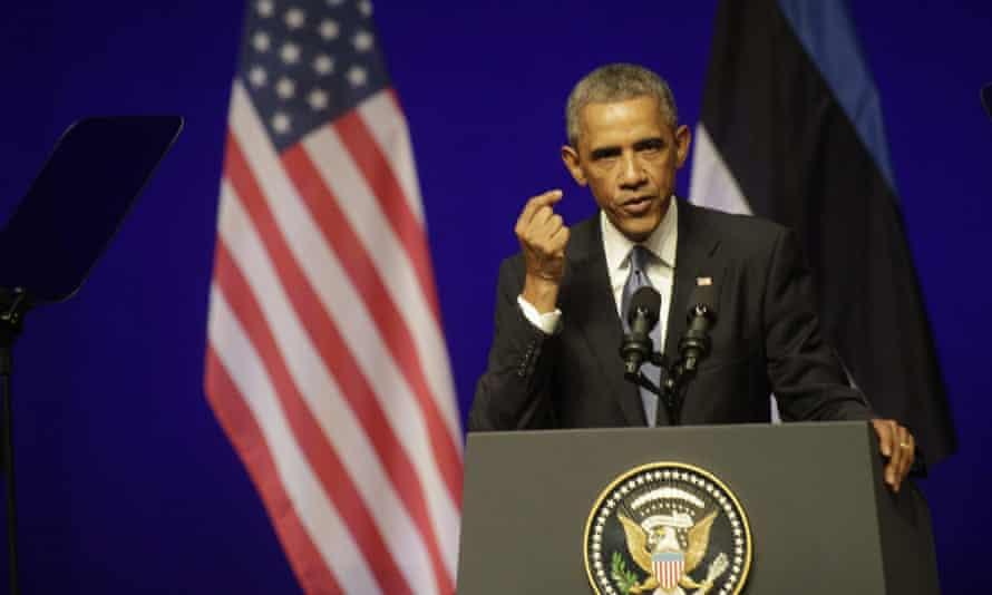 Obama in Estonia
