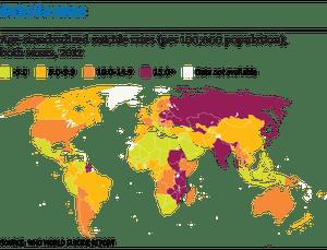 Suicide map web