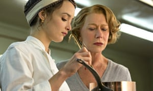 Charlotte Le Bon and Helen Mirren in The Hundred-Foot Journey