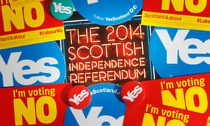 Campaign material in the Scottish independence referendum. Danny Lawson/PA Wire