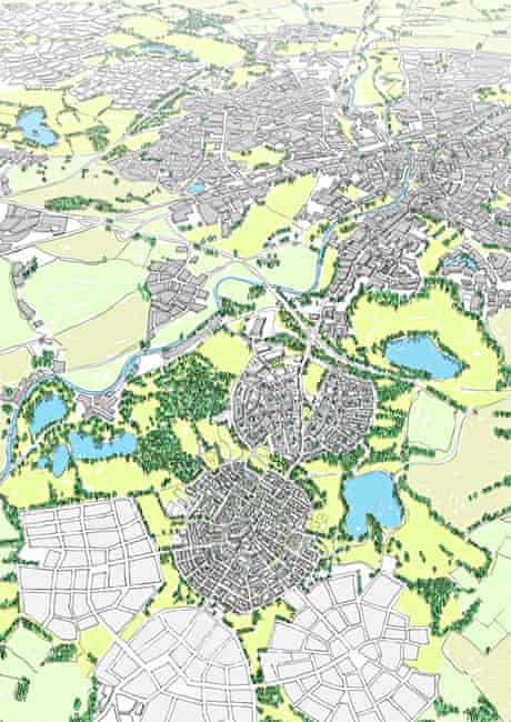 Views of how Oxford could be expanded by David Rudlin
