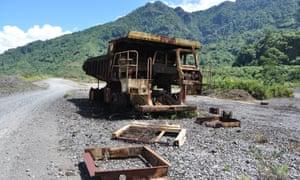 Panguna copper mine, Bougainville