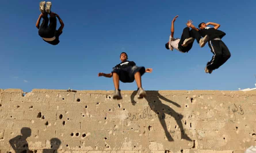 Parkour in Palestine