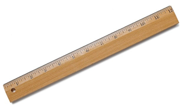 David Cameron's kind of ruler.