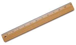 David Cameron's kind of ruler.