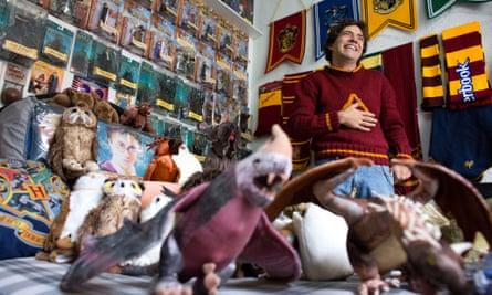 Menahem Asher Silva Vargas's Harry Potter collection