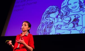 Samiya Parvez of Andiamo during her #dareconf talk.