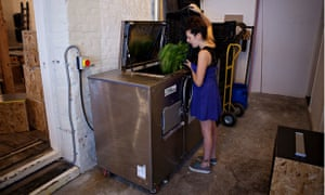 All food waste is recycled at Silo restaurant in Brighton