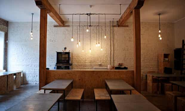 Interior of Silo restaurant in Brighton