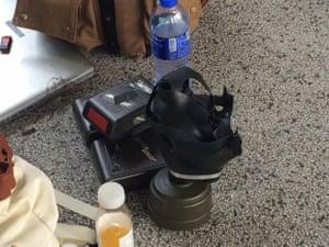 press prepared for more tear gas
