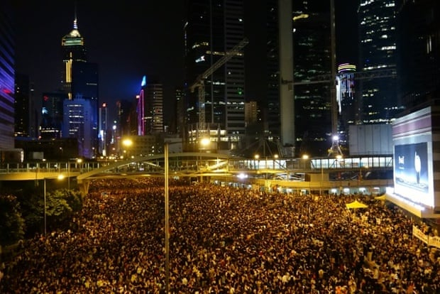 Admiralty, Hong Kong, Monday 29th September 2014, 8:43pm