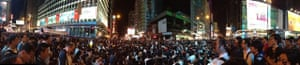 Umbrella Revolution Protests Continue Mong Kok
