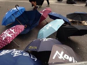 Umbrella revolution?
