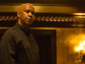 Denzel Washington in The Equalizer.
